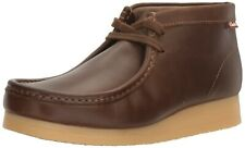 Clarks Mens Wallabee Style Stinson Hi Leather Boots Size uk 8.5 G
