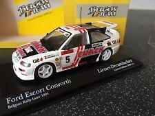 Rare 1:43 Minichamps 434 948205 Ford Escort Cosworth Belgian Team Rally Inter 94