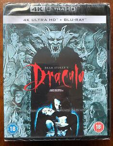 Bram Stoker's Dracula 4K UHD + Blu-ray 1992 Vampire Horror Movie Classic BNIB