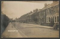 Postcard Enfield Middlesex early view of houses in Oakhurst Road RP