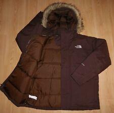 NORTH FACE MCMURDO ICE PARKA HYVENT 550 DOWN FUR HOODED PUFFER PUFFA COAT L / XL