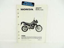 Conducteur manuel manual Original Honda Dominator nx650 rd02