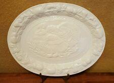 "**NEW** Everyday Gibson Friends & Family 18 3/4"" Ceramic Turkey Serving Platter"