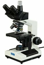 Omax 40x 1000x Compound Trinocular Microscope With Replaceable Led Multi Use