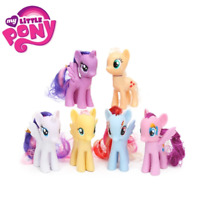 Pack of 6 My Little Pony Toys Set Friendship is Magic Rainbow Dash Twilight Spar