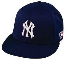 New York YANKEES Bamboo Dri fit MLB Flat Bill Flex Fit Cap Hat L/XL