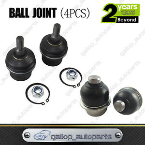 4PCS Fit For Ford Territory SX SY 04-09 Front Leading Arm LOWER UPPER Ball Joint