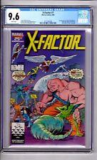 X-FACTOR #7 CGC 9.6 WP '1st App...SKIDS..(Sally Blevins)! Rubinstein Cover!