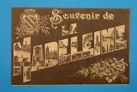 Nord 59 AK CPA Souvenir de La Madeleine 1915 Rues Maisons architecture 1.WK WWI