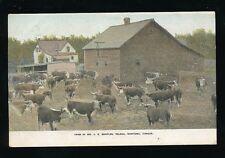 Canada FARMING Manitoba Deleau Farm of Mr Marples FREE FARM immigrant advert PPC
