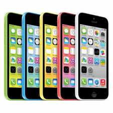 APPLE IPHONE 5C - 16GB (Unlocked GSM)-White Blue Green Pink Yellow BRAND NEW !!