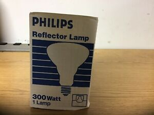 Philips Reflector Lamp 300BR40FL 120-130v