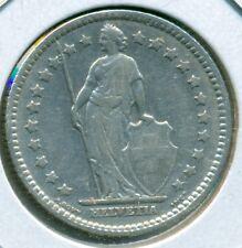 1911 SWITZERLAND 1 FRANC, EXTRA FINE, GREAT PRICE!