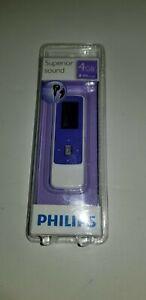 Philips GoGear Mix 4GB Superior Sound MP3 Player SA3MXX04VW/37 Violet