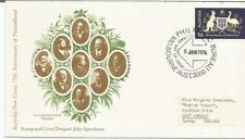Australia Fdc 1976 75th Anniversary Of Nationhood
