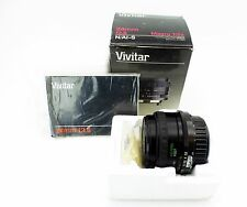 Vivitar 24mm f/2.8 Prime Fix Lens Manual SLR Wide Angle For Nikon F-Mount Mint