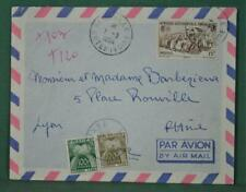 FRANCE COLONIES COTE DE IVOIRE  STAMP COVER TO  FRANCE   (Y130)
