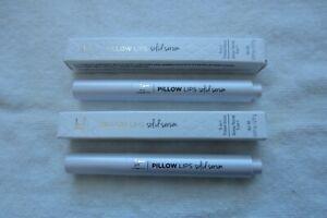 NIB IT Cosmetics Pillow Lips Solid Serum Lip Gloss Lipstick Set - Wistful Humble