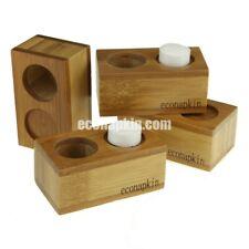 4 x Bamboo Single Econapkin Holders