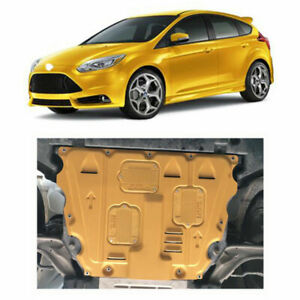 Fits Ford Focus 2012-2018 Golden Engine Splash Guards Shield Under Cover Guard