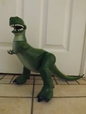 DISNEY TOY STORY LARGE TALKING/ROARING DINOSAUR REX MOVING ARMS AND MOUTH