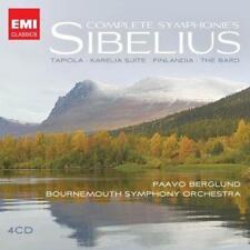 Paavo Berglund - Sibelius: Complete Symphonies, Tapiola, Karelia Suite (NEW 4CD)