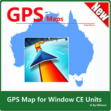 AU & NZ Car GPS Map 2017 Q2 with Micro SD Card for WinCE Car GPS Unit