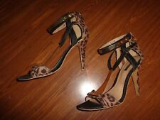 FOREVER 21 SHOES WOMEN'S SIZE 8 (4.5 INCH HEEL) ZIPPER BACK