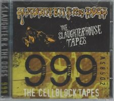 SLAUGHTER & THE DOGS/999 - SLAUGHTERHOUSE/CELLBLOCK TAPES - (sealed) STEP CD 045