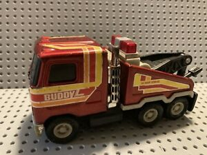 Vintage Buddy L Mack 24 Hour Service Die Cast Tow Truck