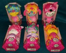 FlipZee Girls Pets - 2in1 COMPLETE SET of 6 Plush - Kitty Cat Puppy Dog Lot NEW