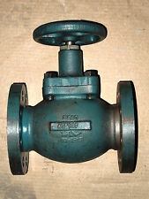 "2"" REGO #A7513F FLANGED STRAIGHT PATTERN ""V""-RING SEAL GLOBE VALVE"