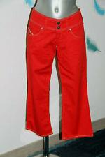 joli pantacourt taille basse rouge femme DIESEL taille W32 42 fr excellent état