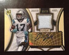2015 TOPPS SUPREME DEVIN FUNCHESS JERSEY RELIC AUTO #ED /25 PANTHERS