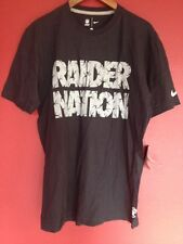 Raider Nation Nike NFL Nike Tshirt Size Large