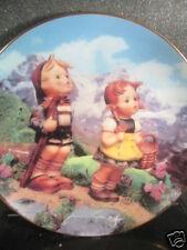 Hummel Danbury Mint 1990 Little Explorers Ltd Ed Plate Mib