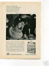 Benson & Hedges Cigarettes 1950's Original Vintage Ad