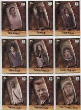 Walking Dead Season 6 Complete CHOP Chase Card Set Chop1-10