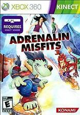 Adrenalin Misfits XBOX 360 KINECT! RACE BOARDS, FUN FAMILY GAME PARTY NIGHT!