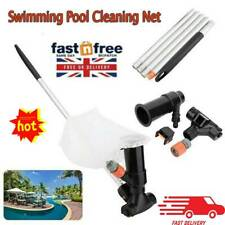 Hot Tub Swimming Pool Pond Fountain Jet Vacuum Cleaner Cleaning Tools Set UK