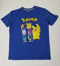 Old Navy Collectabilities Boys Blue T- Shirt Pokemon  size XL