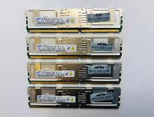 16GB RAM-KIT HP 398708-061 4x4GB 2Rx4 PC2-5300F-555-11-E0 DDR2 667MHz 240-pin