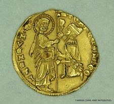 ITALY. VENICE. TOMASSO MOCENIGO (1413-1423). GOLD Zecchino! VERY SCARCE!