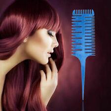3-Way Sectioning Weave Balayage Highlight Highlighting Salon Hair Comb Tool