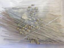 100x Job Lot 1/8th Watt Miniature Carbon Film Resistors in 100R =100 ohms # EB03