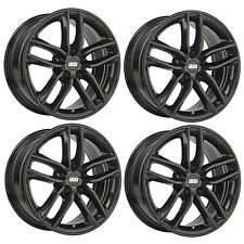4 x BBS SX Crystal Black Alloy Wheels - 5x108 | 18x8"