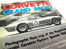Grand Sport Dave Friedman Book Roger Penske Race Log of the Magnificent Corvette