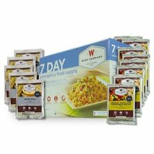 WISE 7 Day Emergency Food Storage MRE Ration Supply