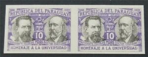 nystamps Paraguay  Stamp Mint Proof      S17x884