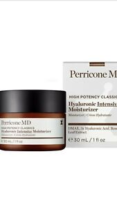 Perricone MD High Potency Classics: Hyaluronic Intensive Moisturizer 1oz New BOX